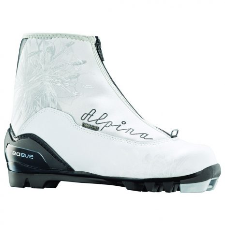Alpina T 20 Eve Touring Boots, White Silver Black