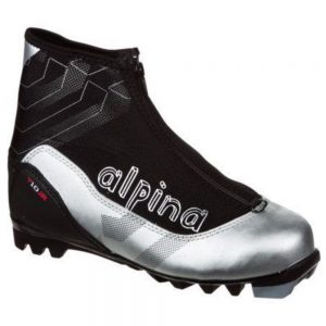 Alpina Kids' T 10 Jr. Touring Boots, Black Silver