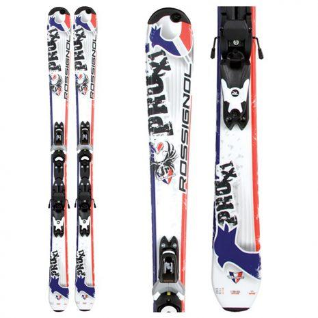 ROSSIGNOL Kid's Pro X1 Ski + Binding Package