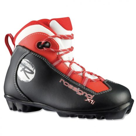 Rossignol Kids' X1 Jr. Touring Boots, Black Red White
