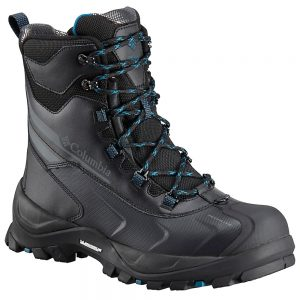 Columbia Men's Bugaboot Plus IV Omni-Heat Insulated Boots, Black Phoenix Blue