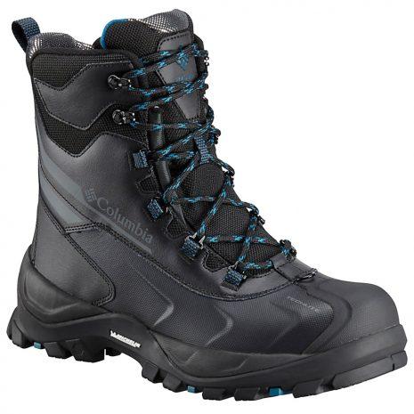 Columbia Men's Bugaboot Plus IV Omni-Heat Insulated Boots, Black Phoenix Blue