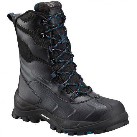 Columbia Men's Bugaboot Plus IV Omni-Heat XTM Insulated Boots, Black Phoenix Blue