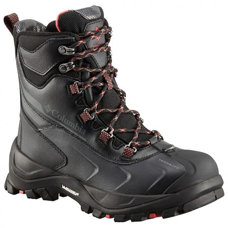 Columbia Women's Bugaboot Plus IV Omni-Heat Insulated Boots, Black Sunset Red