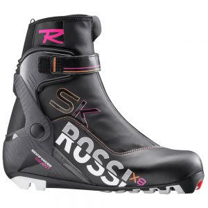 Rossignol Women's X8 Skate FW Skating Boots, Black