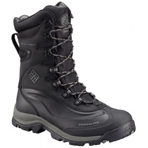 Columbia Men's Bugaboot Plus III XTM Omni-Heat Insulated Boots, Black Charcoal