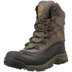 Columbia Men's Bugaboot Plus III Omni-Heat Insulated Boots, Mud Squash