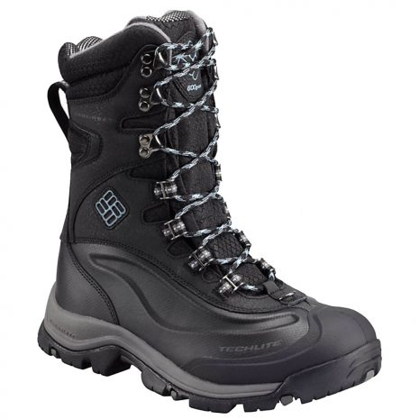 Columbia Women's Bugaboot Plus III XTM Omni-Heat Insulated Boots, Black Dark Mirage
