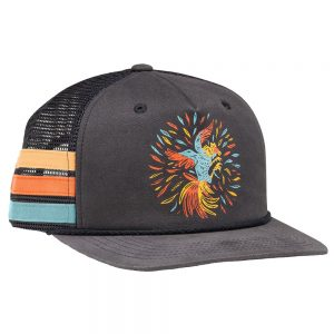 Howler Bros. Gallo Solo Trucker Hat, Navy Gray