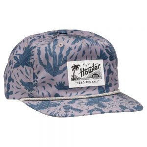 Howler Bros. Gallos Galore Snapback Hat, Wolf Gray