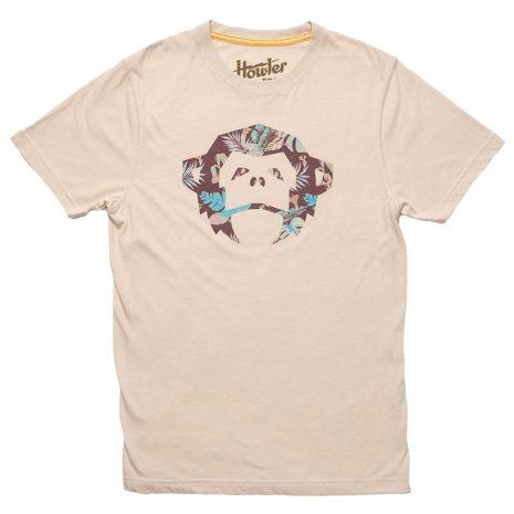 Howler Bros. Men's El Mono Third Coast Select T-Shirt, Cream