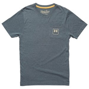 Howler Bros. Men's Howler Posse Select Pocket T-Shirt, Indigo