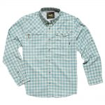 Howler Bros. Men's Matagorda Shirt, Peninsula Plaid Seaspray
