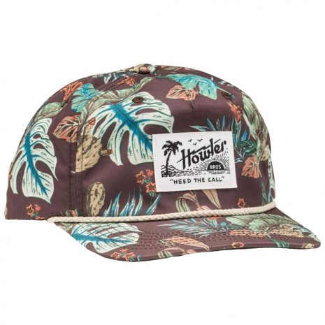 Howler Bros. Third Coast Snapback Hat, Coffee
