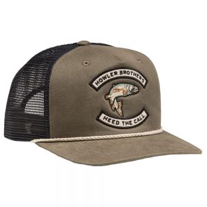 Howler Bros. Trout Trucker Hat, Fatigue