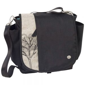 Haiku Bags Women's To-Go Convertible Messenger Bag, Black Morel