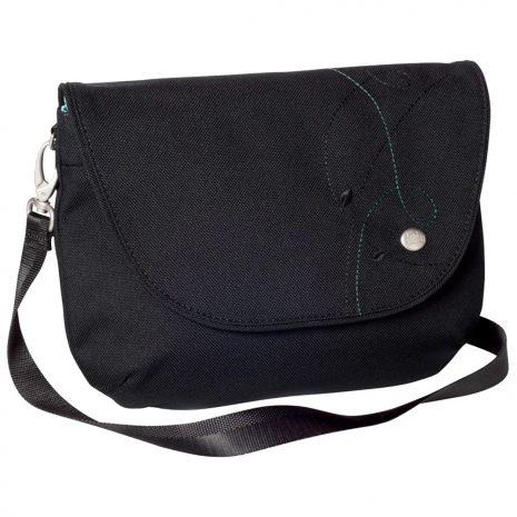 Haiku Bags Women's Bliss Saddle Bag, Black Juniper