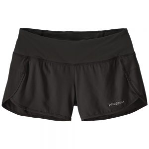 "Patagonia Women's Strider 3.5"" Running Shorts, Black"