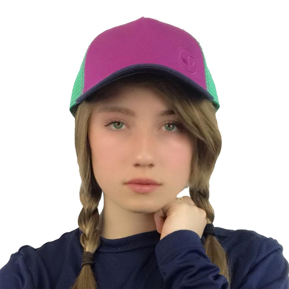 b156d86e3d7 Pistil Women's Buttercup Trucker Hat, Magenta - Great Outdoor Shop
