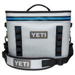 Yeti Hopper Flip 18 Soft Cooler, Fog Gray Tahoe Blue