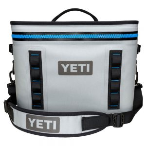 Yeti Hopper Flip 18 Soft Cooler, Fog Gray Tahoe Blue