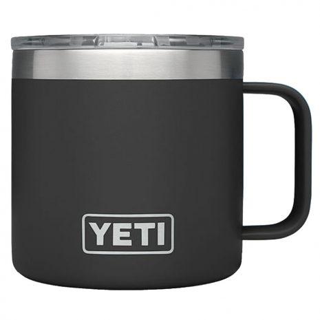 Yeti Rambler 14-Ounce Mug, Black