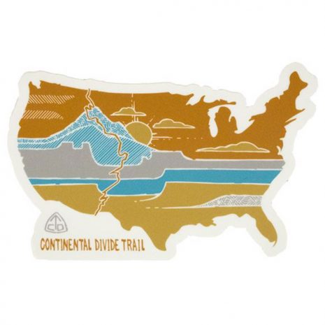 Seek Dry Goods CDT United Landscapes Sticker
