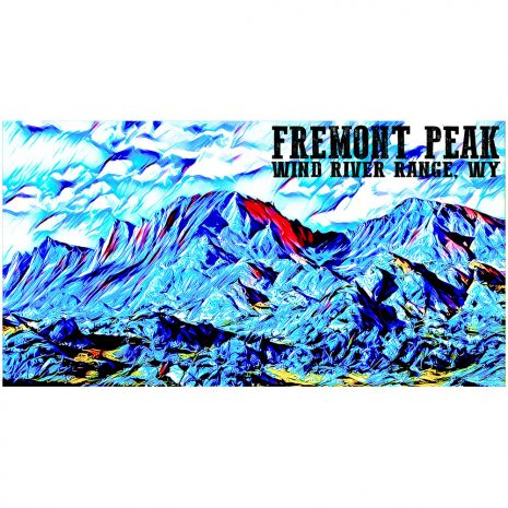 Artist Series Fremont Peak Sticker
