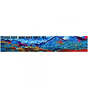 Artist Series Titcomb Basin Bumper Sticker