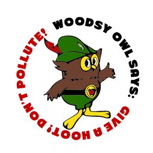 Woodsy Owl Sticker