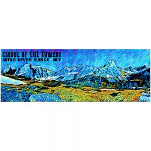 Artist Series Cirque of the Towers 2 Sticker