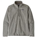 Patagonia Men's Better Sweater 1/4 Zip, Stonewash