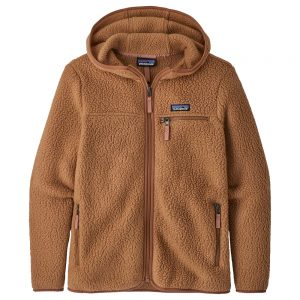 Patagonia Women's Retro Pile Fleece Hoody, Beech Brown