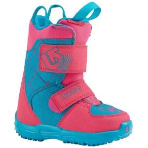 Burton Snowboards Kids' Mini Grom Snowboard Boot, Pink Teal