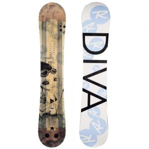 Rossignol Women's Diva Magtek Snowboard, 2014