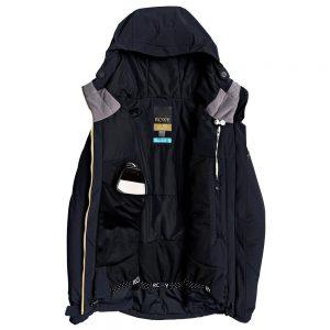 Roxy Women's Premiere Snow Jacket, Black