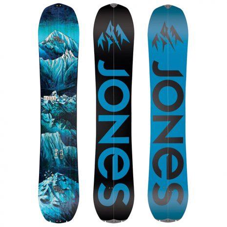 Jones Snowboards Men's Frontier Splitboard, 2020