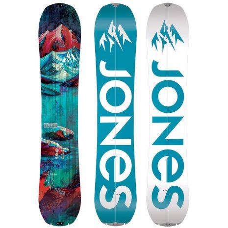 Jones Snowboards Women's Dream Catcher Splitboard, 2020