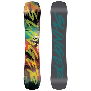 Never Summer Men's Funslinger Snowboard, 2020