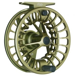 redington rise fly reel olive