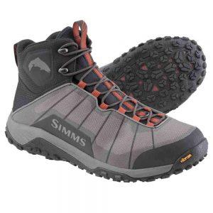 simms flyweight boot rubber