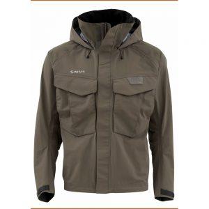 simms freestone wading jacket coal
