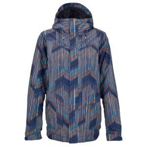 BURTON Women's Cadence Jacket, Dusk Chevron
