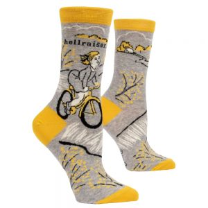 Blue Q Women's Hellraiser Crew Socks