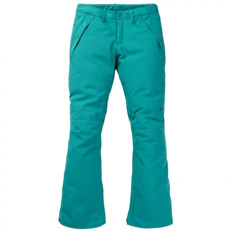 BURTON Women's Society Insulated Snow Pants, Green Blue Slate