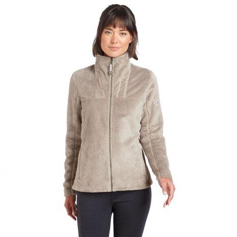 KUHL Women's Aviatrix Fleece Jacket, Moonrock