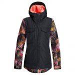 ROXY Women's Ceder Insulated Jacket, True Black Night Palm