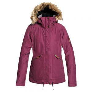 ROXY Women's Meade Insulated Jacket, Grape Wine