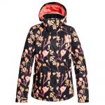 ROXY Women's Torah Bright Jetty Insulated Jacket, True Black Magnolia