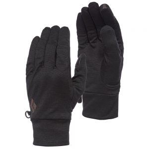 BLACK DIAMOND Lightweight Wooltech Glove, Anthracite